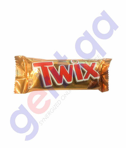 Buy Twix Chocolate 2*25gm Price Online in Doha Qatar