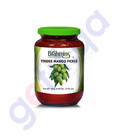 BRAHMINS TENDER MANGO PICKLE 300G BOTTLE