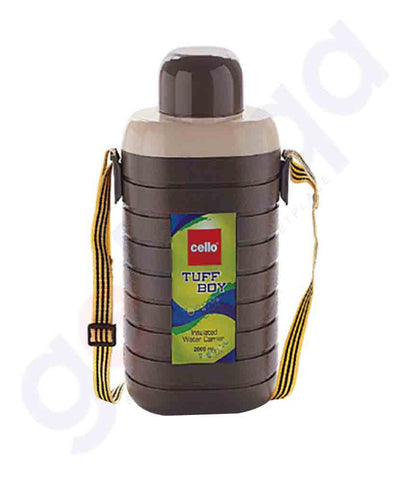 Buy Water Bottle Tuff Boy 1000ml Brown Price Online in Doha Qatar