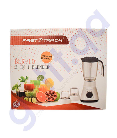 FAST TRACK BLENDER BLR 10 3 in1 350W FT BLR 10