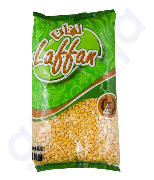 Buy Best Quality Laffan Toor Dal 1kg Price Online in Doha Qatar