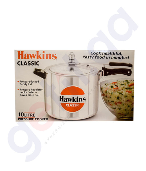HAWKINS 10 LTR CLASSIC PRESSURE COOKERS