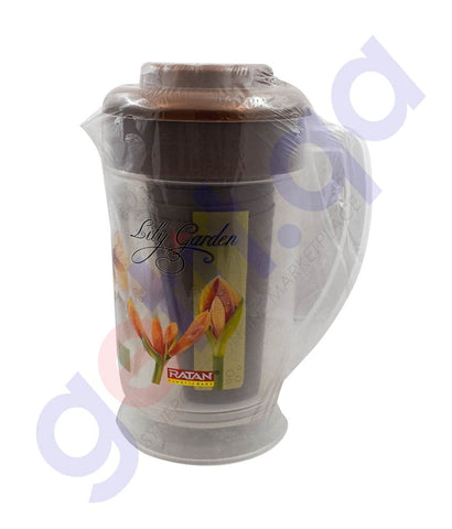 RATAN R-777 JUG+LID+4 GLASS (PRINTED)