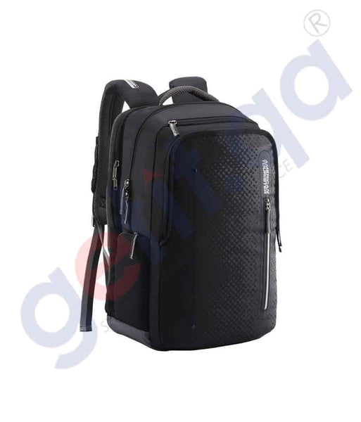 GETIT.QA | Buy American Tourister Akron BP1 Black Regular Doha Qatar