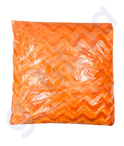Buy Cussion Pillow Standard BT025 Orange Price Online Doha Qatar