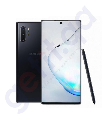 Buy Samsung Galaxy Note 10+ 256gb/512gb Aura Black Price Online in Doha Qatar
