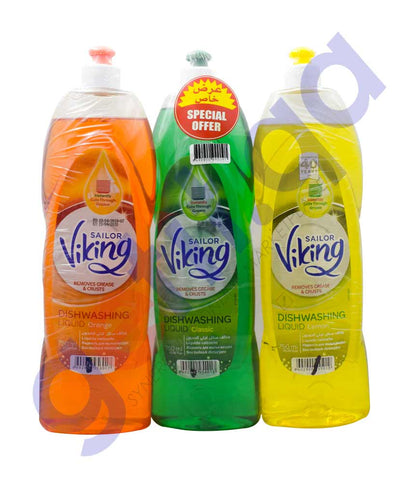 Buy Viking Dishwashing Liquid Assorted 750ml in Doha Qatar
