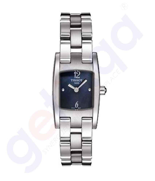 GETIT.QA | Buy Tissot T3 Black Pearl Watch T042.109.11.127.00 Doha Qatar