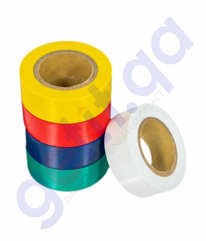 Buy KMax 77 PVC Electrical Tape Assorted Online Doha Qatar
