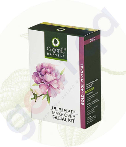 Buy Organic Harvest Gold Facial Kit 50g Online Doha Qatar
