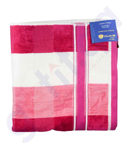 Buy Duke Jumping Stripe Towel Assorted Online in Doha Qatar