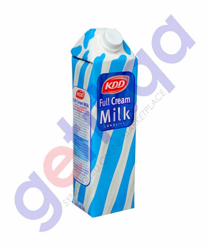 LONG LIFE MILK - KDD FULL CREAM MILK 1LTR