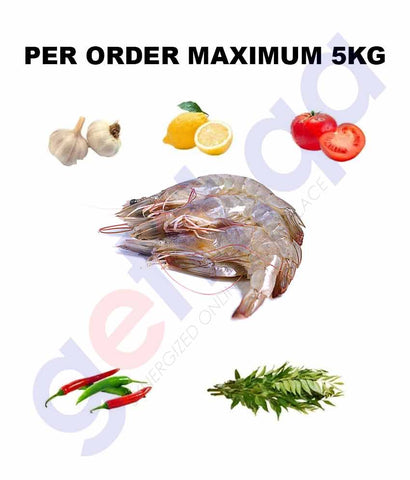 Fresh Fish - ROBIAN - روبيان - PRAWN -Big 1KG