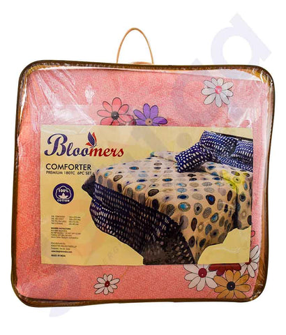 Buy Bloomers Comforter King Size BT0TC Online in Doha Qatar
