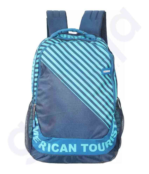 Buy American Tourister Pop Next Backpack 01 Navy Doha Qatar