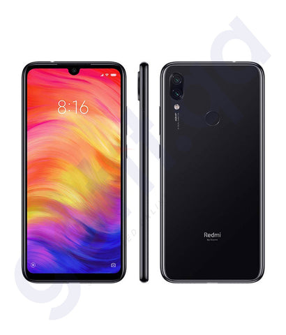Buy Xiaomi Redmi 7 3gb 32gb Black Online in Doha Qatar