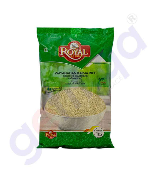 Buy Quality Royal Wayanadan Kaima Rice 1kg Online in Doha Qatar