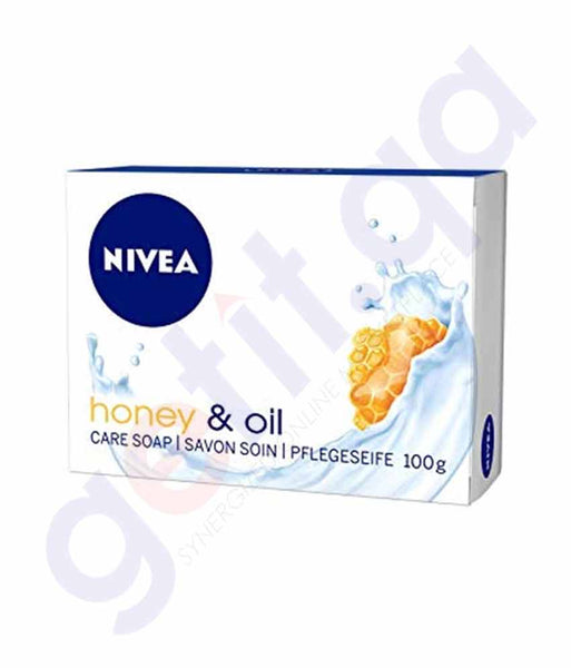 Buy Nivea Honey & Oil Bar Soap 100ml Price Online Doha Qatar