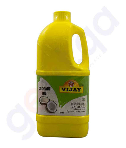 Buy Vijay Coconut Oil 1kg at Best Price Online in Doha Qatar