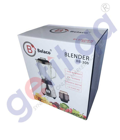 Buy Belaco Blender with Jar & Grinder Online in Doha Qatar