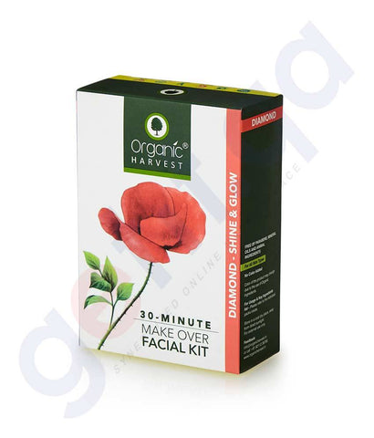Buy Organic Harvest Diamond Facial Kit 50g Online Doha Qatar