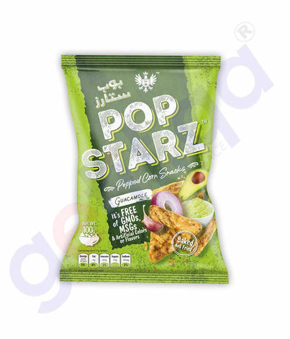 Buy Pop Starz Guacamole 100g Price Online in Doha Qatar