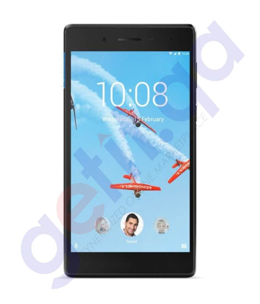 Buy Lenovo Tab 7304I-GP Slate Black 1GB 16GB in Doha Qatar