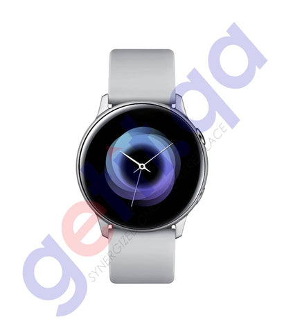 Buy Samsung Galaxy Watch Active Silver Online in Doha Qatar