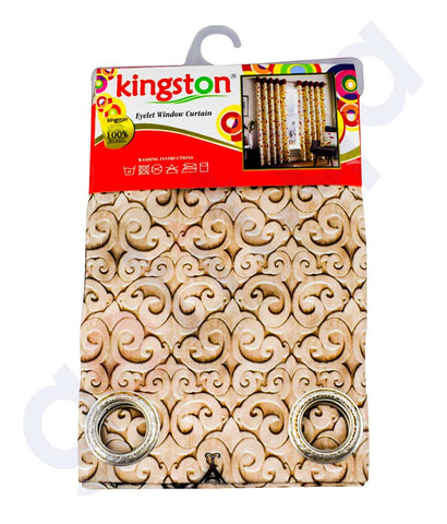 Buy Kingston Eyelet Curtain 140*240cm Online in Doha Qatar