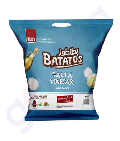 Buy Batato's Salt & VInegar 15gm, 15gmx20, 30gm, 167gm Price Online in Doha Qatar