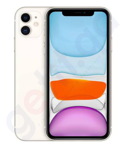 Buy Apple iPhone 11 4gb White-64gb, 128gb Price Online in Doha Qatar