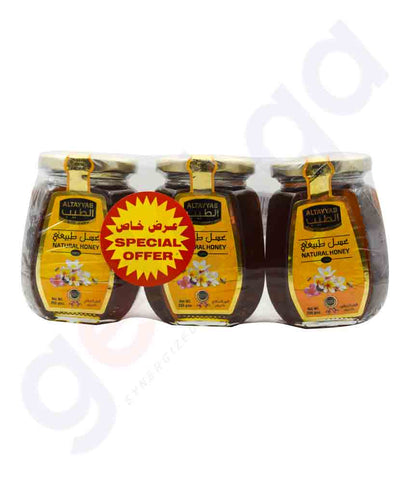 Buy Al-Tayyab Natural Honey 3x250gm Price Online Doha Qatar