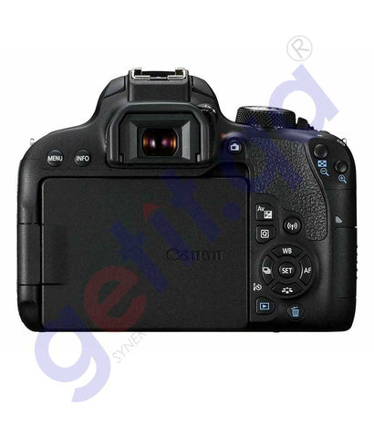 CANON EOS 800D DIGITAL SLR WITH 18-55 IS STM LENS BLACK