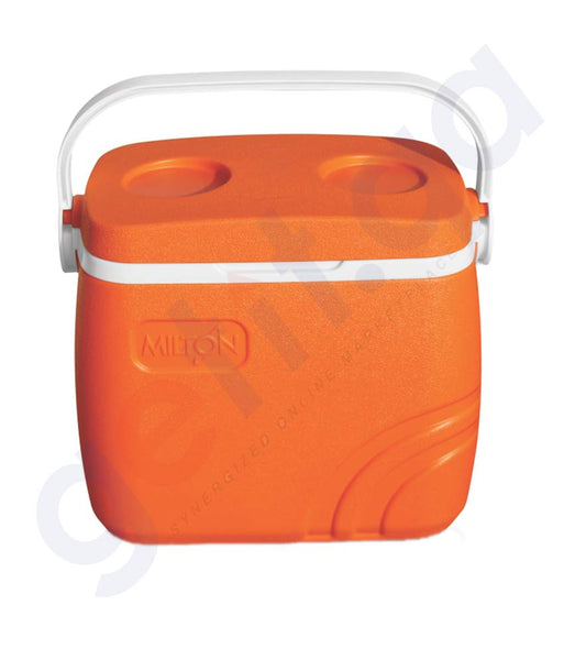 BUY MILTON 30 LITRES SUPER CHILL ICE BOX ORANGE ONLINE IN DOHA QATAR