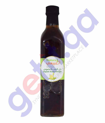 GETIT.QA | Buy NATURAL ORGANIC GRAPE VINEGAR 500ML in Qatar