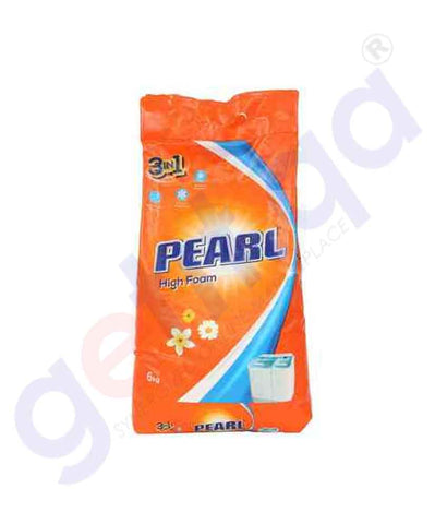 PEARL 6 KG DETERGENT HIGH FOAM