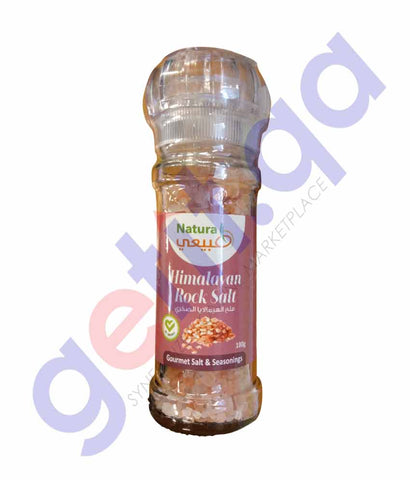 GETIT.QA | BUY NATURAL HIMALAYAN PINK SALT 100GM ONLINE IN DOHA QATAR