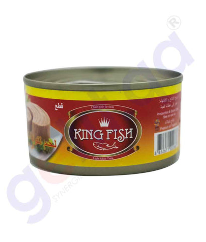 GETIT.QA | Buy King Fish Skipjack Tuna in S Oil 185gm Price Doha Qatar