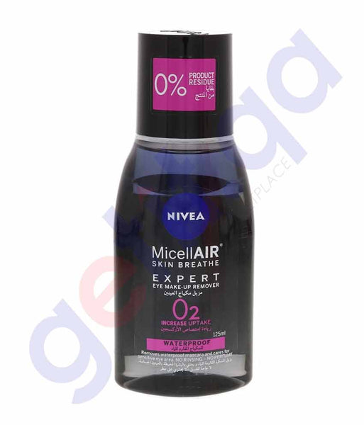 Buy Nivea Micellar Expert Eye Make up Remover in Doha Qatar