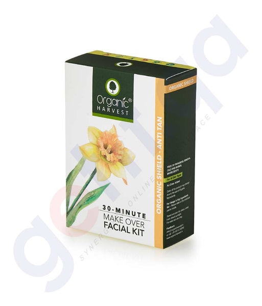 Buy Organic Harvest Organic Shield Facial Kit 50g Doha Qatar