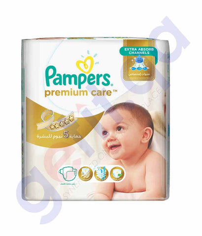 PAMPERS - PAMPERS PREMIUM CARE SIZE-3 (25 PIECES)