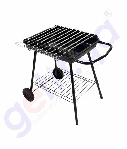 GETIT.QA | Buy Desert Ranger BBQ Trolley with Accessories Doha Qatar