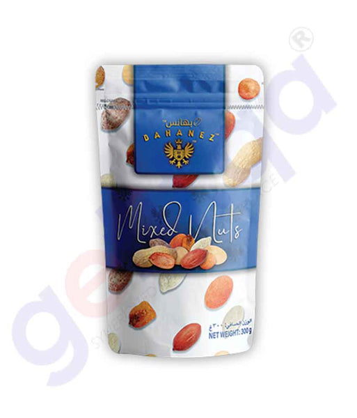 Buy Bahanez Mixed Nuts 300gm Price Online in Doha Qatar
