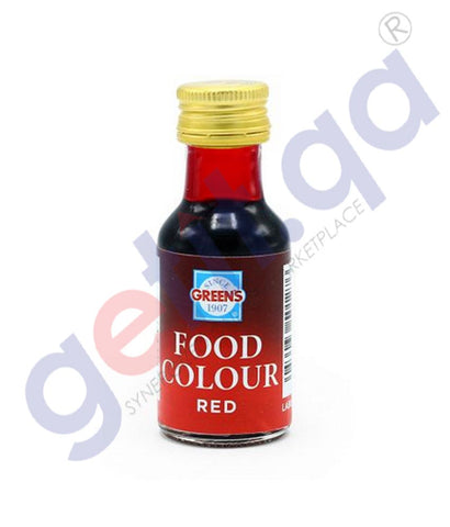 Buy Green's Red Food Colour 28ml Price Online in Doha Qatar