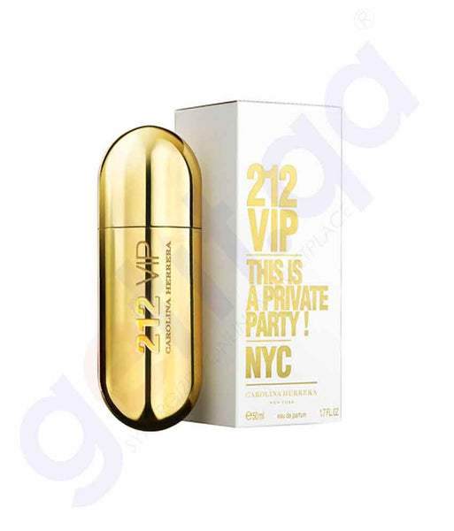 CAROLINA HERRERA 212 VIP EDP 50ML FOR WOMEN