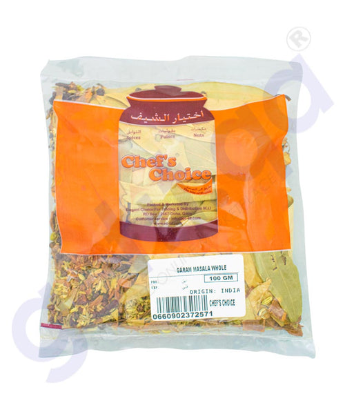 Buy Chef's Choice Garam Masala Dry Whole 100gm Doha Qatar