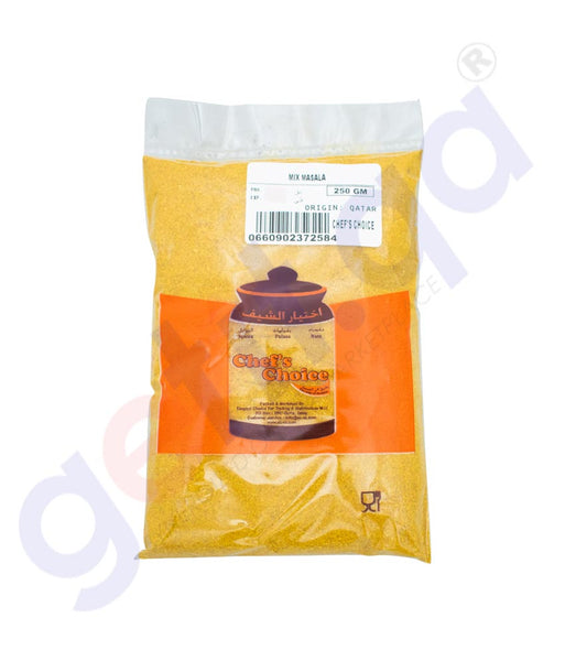 GETIT.QA | Buy Chef's Choice Mix Masala Indian 250gm Online Doha Qatar