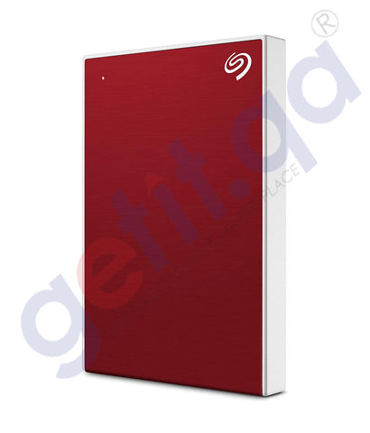 GETIT.QA | Buy Seagate Backup Plus 1TB Red HDD Online in Doha Qatar