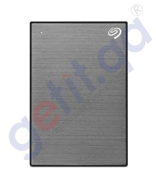 GETIT.QA | Buy Seagate Backup Plus 1TB Grey HDD Online in Doha Qatar