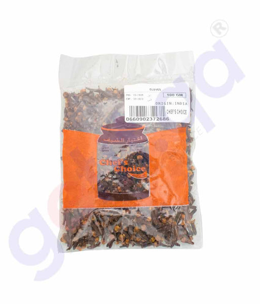GETIT.QA | Buy Chef's Choice Cloves 100gm Price Online in Doha Qatar